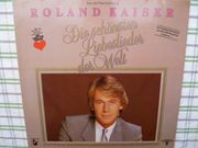 Musikschallplatte Roland Kaiser Die schönsten