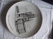KMP Wandteller Porzellan Serie Neues