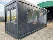 Container Bürocontainer Wohncontainer NEU mit