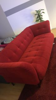Rotes Big Sofa