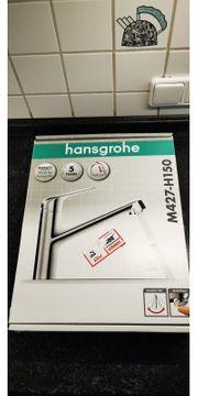 Hansgrohe M427-H150 Einhebelwasserhahn neu unbenutzt