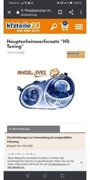 VW Polo 9N Angel Eyes