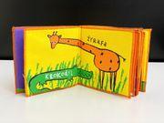 Kissenbuch Zootiere Kinderbuch Grafikdesign Tierbuch