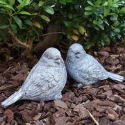Vogel Deko Figuren Grabdekoration und