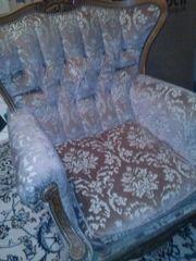Coachgarnitur mit Hilfe des Vintagestils