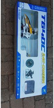Hubschrauber mit Videokamera neu