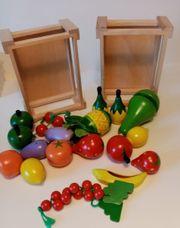 Holzspielzeug Kinderküche Konvolut