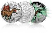 3 Euro Münzen Dinosaurier