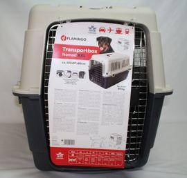 Zubehör für Haustiere - Flamingo Hundetransportbox Hundebox Modell Nomad