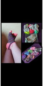getragene Socken oder Höschen