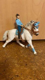 Schleich Pferdefigur mit Reiter