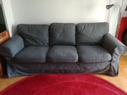 IKEA EKTORP Sofa 3-Sitzer - grau