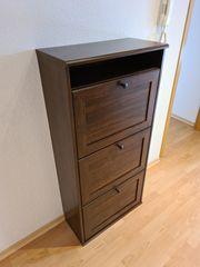 Schuhschrank IKEA BRUSALI braun
