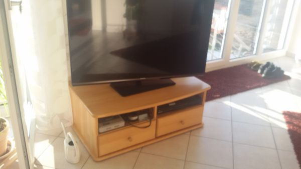 TV-Schrank Massivholz Buche