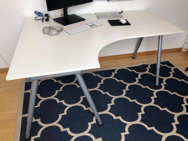 Top Schreibtisch Ikea Galant weiß