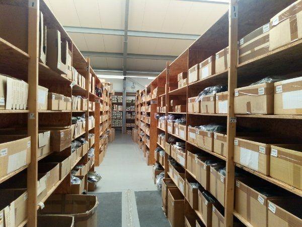 Gewerbeteilfläche oder Lagerkapazität