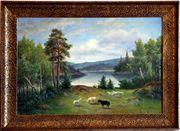 MeisterGemälde JOHNNY MILLAR 1855 SE