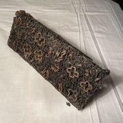 Antiker Batik Stempel Textil Stoff