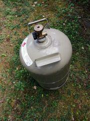 Gasflasche grau ungefüllt 11kg