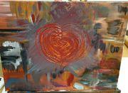 Das gebrochene Herz Abstraktes acryl