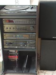 Kenwood Stereoanlage mit Boxen