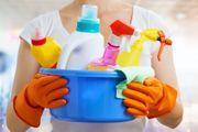 Putzfrau Reinigung nach dem Umzug