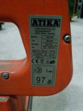 ATIKA DK400 Dekupiersäge: Kleinanzeigen aus Frankenthal - Rubrik Geräte, Maschinen