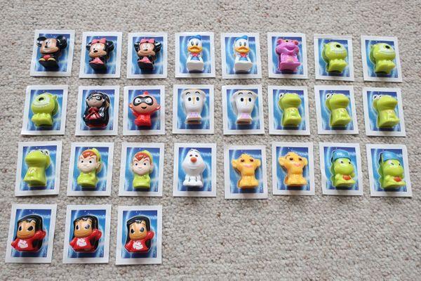 Verkaufe 27 Rewe Disney Wikkeez