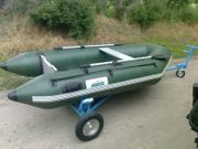 Schlauchboot Moritz mit Mercury 9