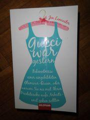 Buch Roman Jen Lancaster Gucci
