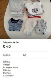 Babypaket Newborn Gr 56