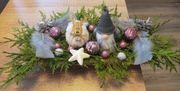 weihnachtsgesteck handmade