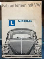 VW Käfer Original Fahrschule 50er