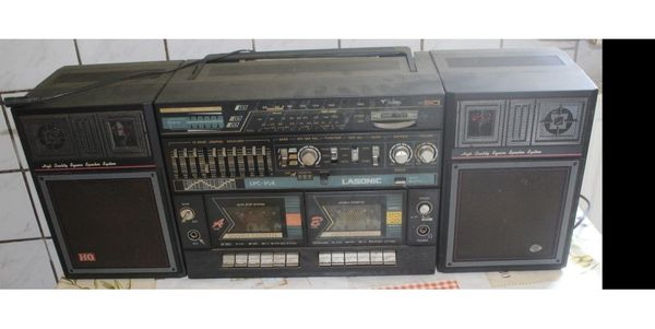 Antiker Ghettoblaster Lasonic LPC-90K