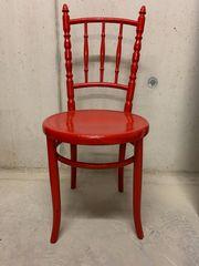 Alter Holzstuhl - Stuhl Antik