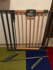 Geuther Easylock Wood Treppenschutzgitter
