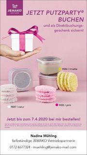 JEMAKO Abschmink-Pads - kostenlos - Gastgebergeschenk