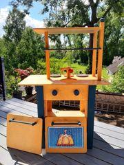 Holz Kindermöbel Set