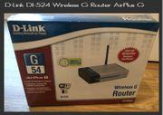WLAN- Router D-Link DI-524 Wireless