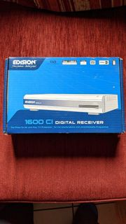 Edision 1600 CI Satreceiver mit