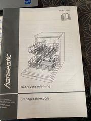 Hanseatic freistehende Spühlmaschine