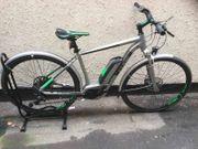 Bosh Hybrid-Fahrrad cube cross
