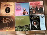 Schallplatten Sammlung Klassik Vinyl sehr