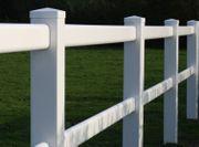 30 Kunststoffzaun weiß Pferdezaun Koppelzaun