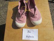 Mädchenschuhe Sneaker Gr 32 Schlupfschuhe