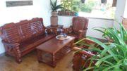 Sitzgruppe Gartenmöbel Massivholzmöbel