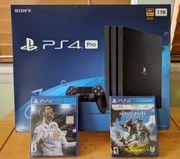 PS 4 Pro mit kostenlosen