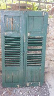 Alte Fensterläden Klappläden Holzläden