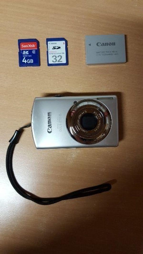 Canon Ixus 870 IS Digitalkamera