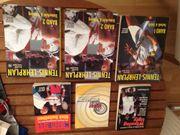 3 Tennis-Mentalbücher 3x Tennislehrplan Band